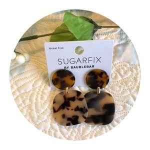- Sugarfix Leopard Print Earrings NWT
